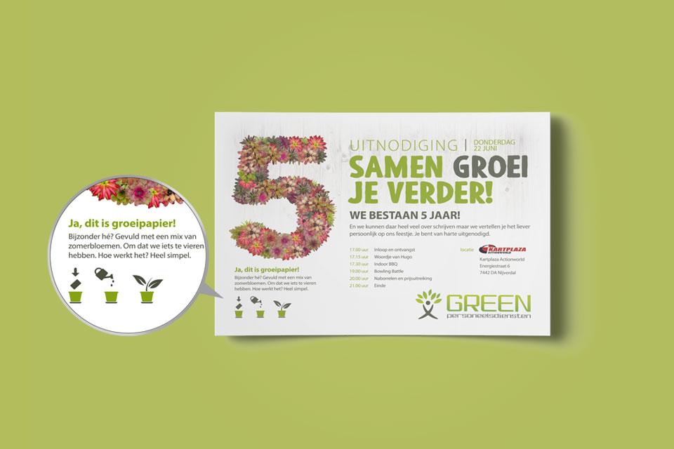 Green-Groeipapier