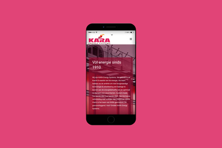 Kara-Website-Mobiel